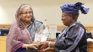 Photo of 'ভ্যাকসিন হিরো' সম্মাননায় ভূষিত প্রধানমন্ত্রী