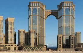Photo of মক্কায় বিশ্বের সবচেয়ে উঁচু ঝুলন্ত মসজিদের নির্মাণ চলছে
