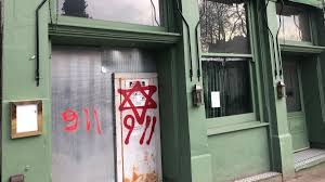 Photo of উত্তর লন্ডন জুড়ে ইহুদি বিরোধী বর্ণবাদী দেয়াল লিখন