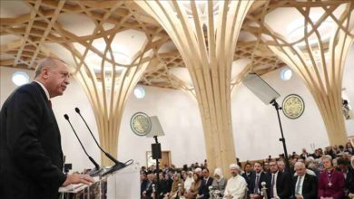 Photo of কেমব্রিজের 'গ্রিন মসজিদ' উদ্বোধন করলেন এরদোগান