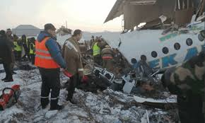 Photo of কাজাখস্তানে যাত্রীবাহী বিমান বিধ্বস্ত হয়ে নিহত ১৫