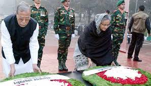 Photo of জাতীয় স্মৃতিসৌধে রাষ্ট্রপতি ও প্রধানমন্ত্রীর শ্রদ্ধা