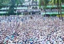 Photo of আল্লামা আহমদ শফীর জানাজা সম্পন্ন, লাখো মানুষের ঢল